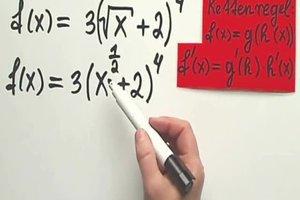 Ableitung von Wurzel x mit Kettenregel - so funktioniert sie