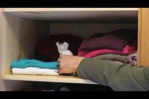 Muffiger Geruch in Kleidung - Gegenmaßnahmen