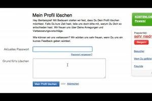 Badoo-Profil löschen - so klappt's