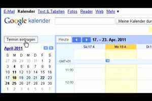 Google Kalender einrichten - so finden Sie freie Termine