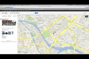 Koordinaten eingeben bei Google Maps