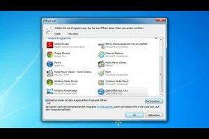 Docx mit OpenOffice öffnen - so gelingt's