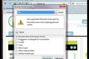 Firefox: meistbesuchte Seiten löschen - so geht's