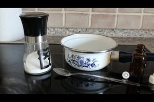 Isotonische Kochsalzlösung selber machen - so geht's