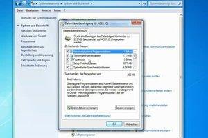 Systemfehler - Speicherabbilddateien löschen in Windows