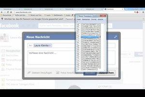 Bei Facebook bunte Schrift verwenden - so kann es gehen
