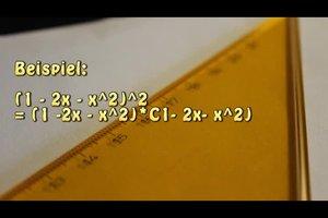 Trinomische Formel - so gehen Sie bei der Berechnung vor