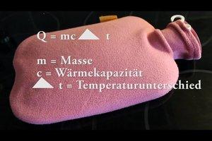 Q=mc*delta t - so erklären Sie die Berechnung der Wärmemenge