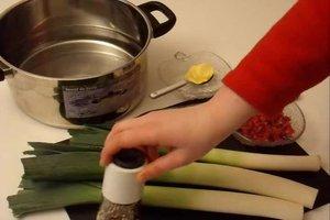 Lauch - Zubereitung und Rezeptideen
