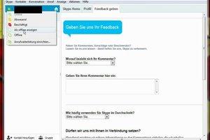 Skype: Unsichtbare sehen - so geht's
