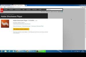 Shockwave-Player stürzt ab - bei Chrome verhalten Sie sich so