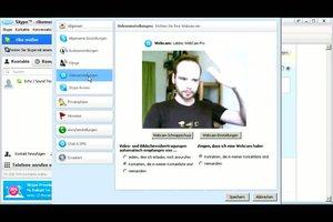 Skype - Kamera einrichten