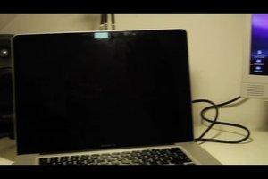 Bei MacBook Bildschirm schwarz - was tun?