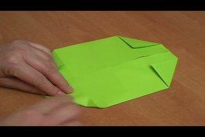 Origami mit Din A4 Papier falten - so geht's
