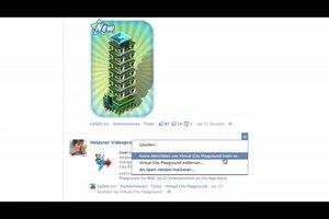 Bei Facebook Beiträge verbergen - so wird's gemacht