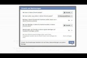 Facebook-Pinnwand für Fremde verbergen - so geht's
