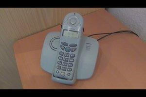 Telefon anschließen - Anleitung