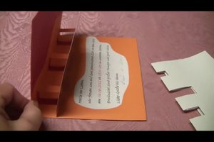 Popup-Karten basteln - zwei verschiedene Möglichkeiten