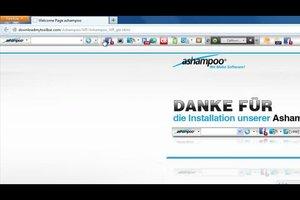 Ashampoo-Toolbar entfernen - Deinstallationsanleitung