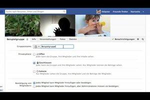 Bei Facebook einen Gruppennamen ändern - so geht's