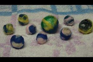 Schmuck filzen - so gelingen kleine Perlen