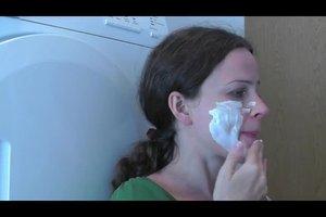 Trockene Haut - mit einer Quarkmaske Besserung erzielen