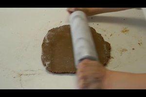 Lebkuchenhaus basteln - eine Anleitung