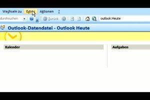 Posteingangsserver in Outlook konfigurieren - so geht´s