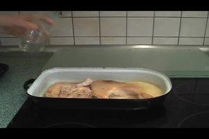 Entenschenkel lecker zubereiten - ein Rezept