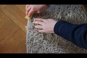 Teppichreinigungsmittel ganz natürlich selber herstellen - so geht's
