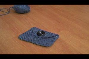 Häkelanleitung für Anfänger - eine kleine Tasche häkeln