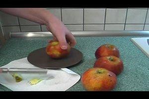 Bratapfel ohne Marzipan zubereiten - ein Rezept