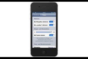 iPhone 4: Kamera-Ton ausschalten - so geht's