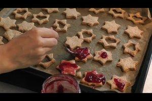 Plätzchen mit Marmelade backen - ein Rezept