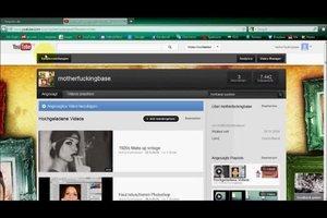 YouTube - Kanal-Hintergrund erstellen