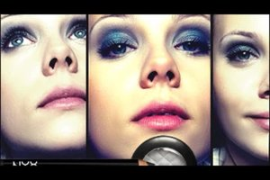 Blaue Augen betonen - so schminken Sie richtig