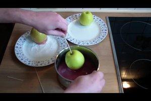 Candy Apples - Liebesäpfel selbst gemacht