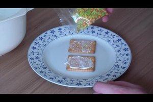 Hexenhaus aus Butterkeksen - ein leckeres Rezept