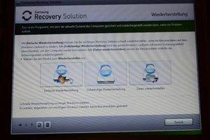 Windows 7 in den Auslieferungszustand zurückversetzen - so geht's