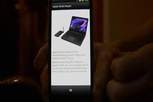 Samsung Galaxy Ace als Hotspot verwenden - so geht's