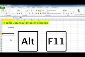 In Excel Datum automatisch einfügen - so funktioniert's