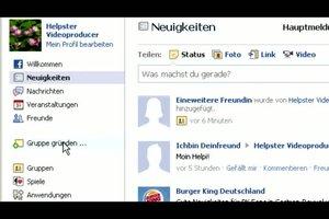 Anleitung - Facebook Gruppe gründen
