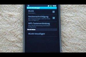 Samsung Galaxy Ace per WLAN verbinden - so geht's