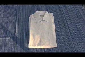 Hemd zusammenlegen - so geht´s richtig