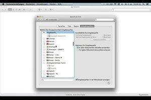 Tastatur umschalten beim Mac - so geht's