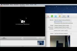 Aktivieren der Kamera unter Mac OS - so geht's