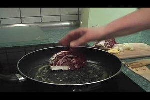 Radicchio - Rezepte für gebratenen Radicchio