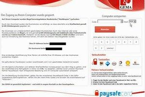 Paysafe-Virus - so entfernen Sie ihn