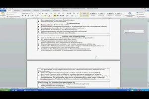 Word 2010: Seitenzahlen ab Seite 3 erstellen