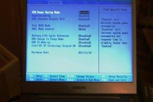 Bios bei Windows 7 starten - so geht's